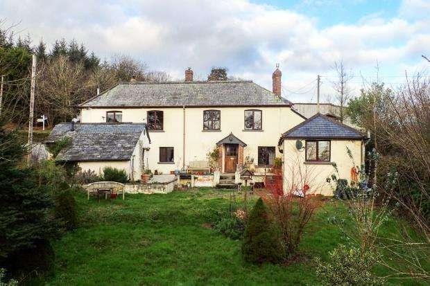 4 Bedrooms Detached House for sale in Sheepwash, Beaworthy, Devon