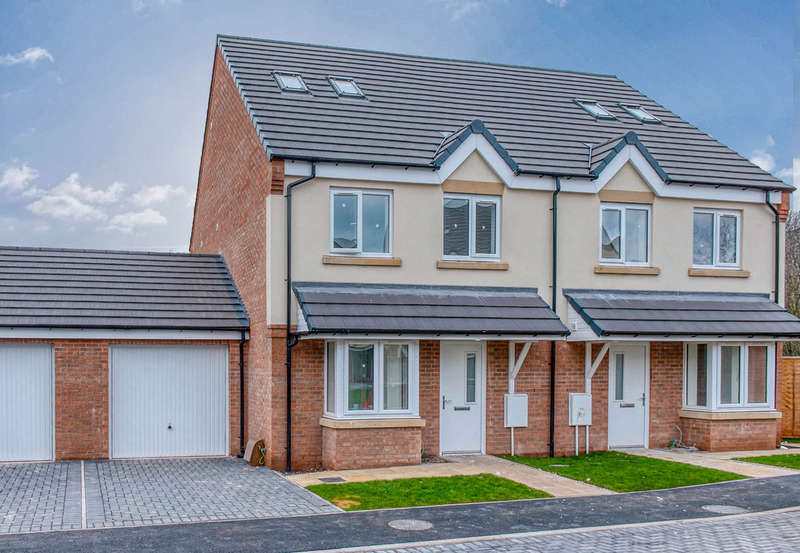 4 Bedrooms Semi Detached House for sale in Plot 8 The Pinewood, Primrose Court, Groveley Lane, Longbridge, Birmingham, B31 4PT