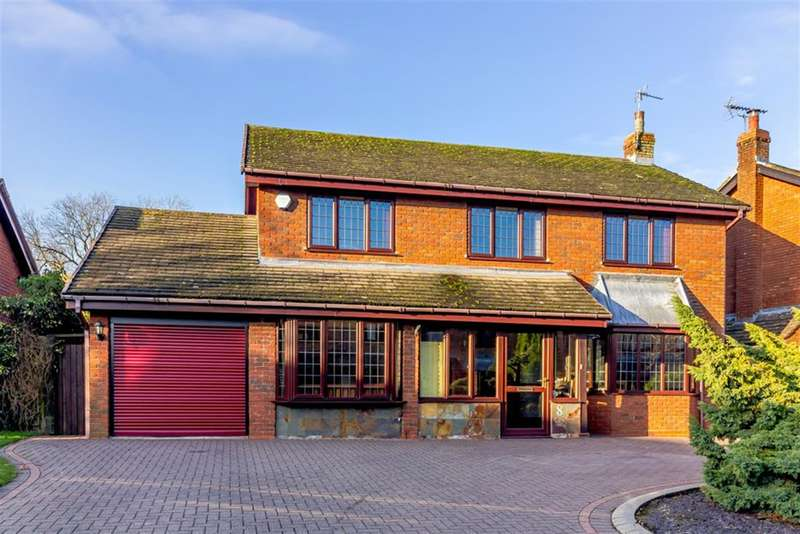 4 Bedrooms Detached House for sale in Westerham Close, Knowle, Solihull, B93 9BU
