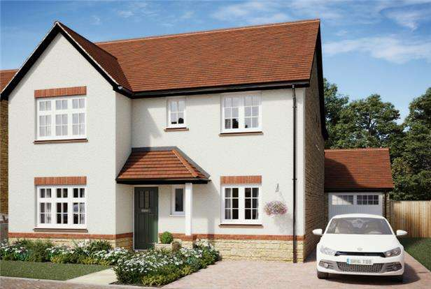 4 Bedrooms Detached House for sale in Plot 3 The Alcombe, The Chestnuts, WINSCOMBE, Somerset, BS25 1LD