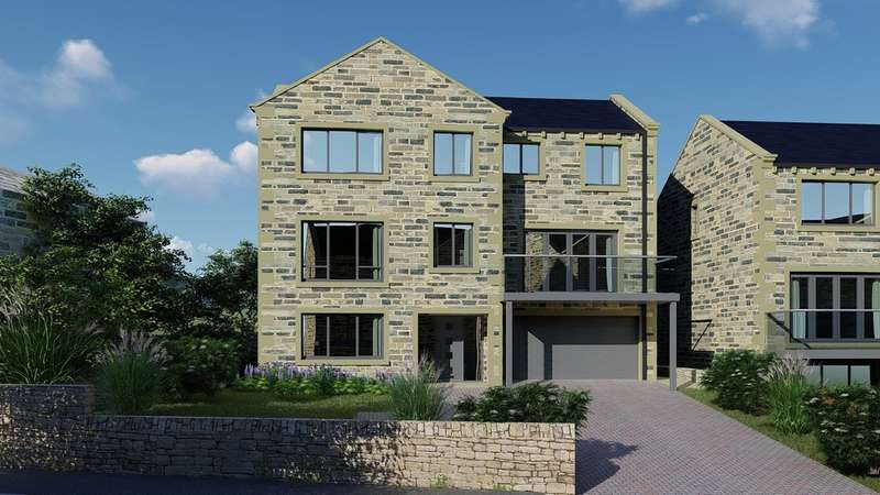 4 Bedrooms Detached House for sale in Broad Lane, Upperthong, Holmfirth