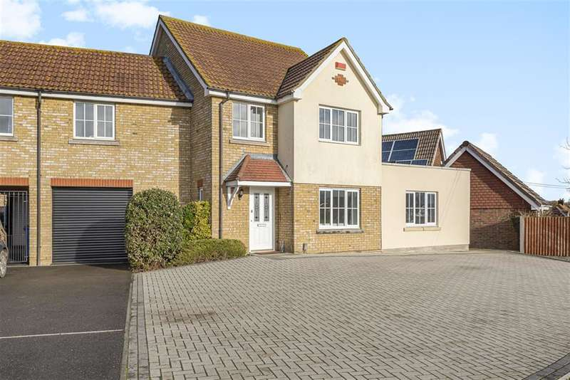 5 Bedrooms Link Detached House for sale in School Lane, Iwade, Sittingbourne