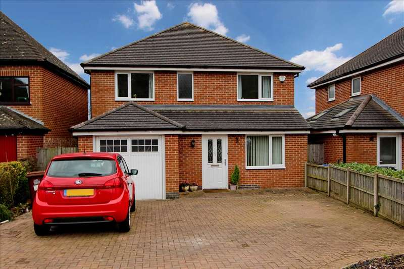 4 Bedrooms Detached House for sale in Markfield Road, Ratby, Leicester