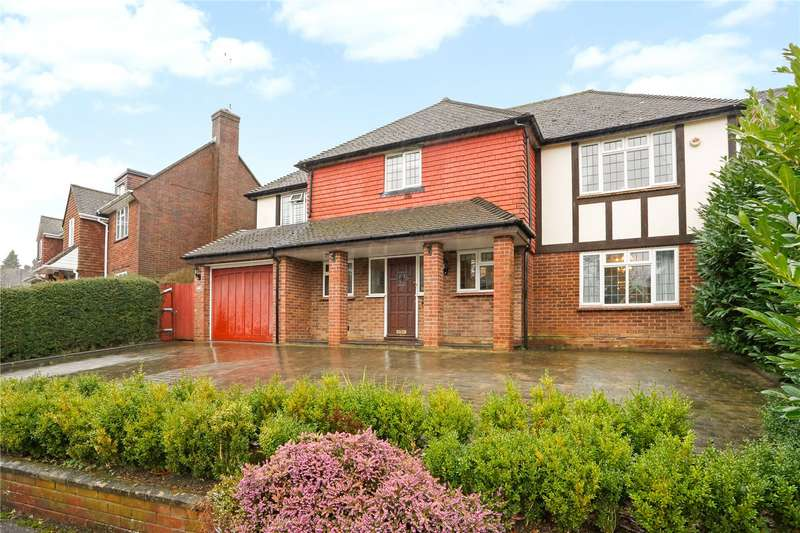4 Bedrooms Detached House for sale in Connaught Way, Tunbridge Wells, Kent, TN4
