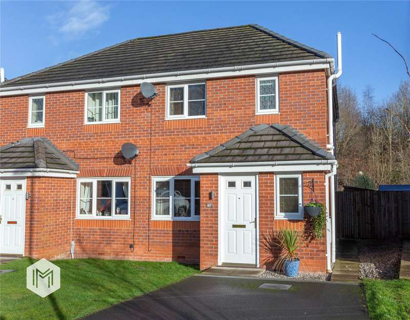 3 Bedrooms Semi Detached House for sale in Valley View, Bury, Greater Manchester, BL8