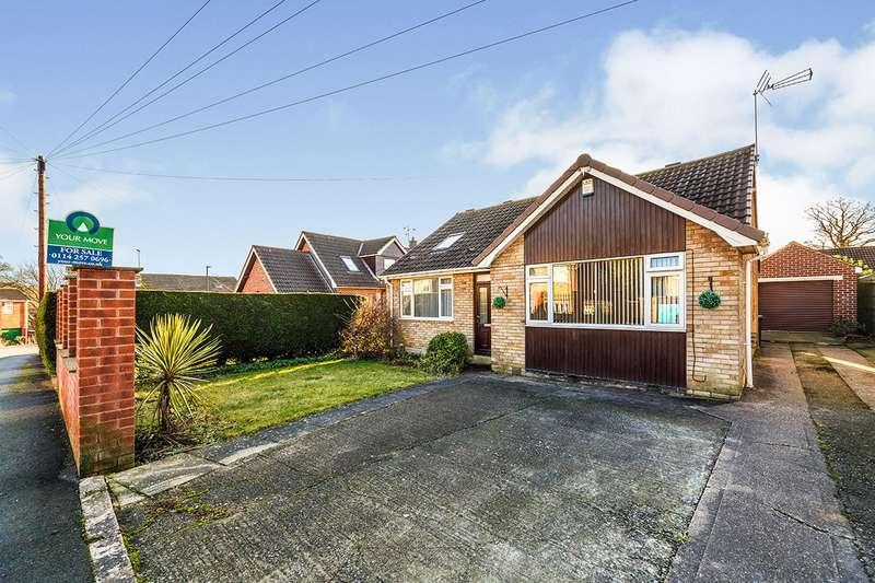 2 Bedrooms Detached Bungalow for sale in Glenwood Crescent, Chapeltown, S35