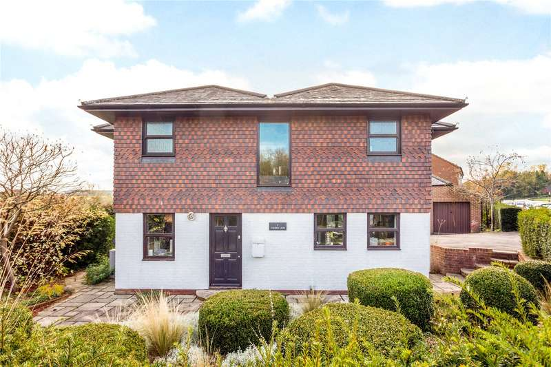 5 Bedrooms Detached House for sale in Church Lane, Lower Fyfield, Marlborough, Wiltshire, SN8