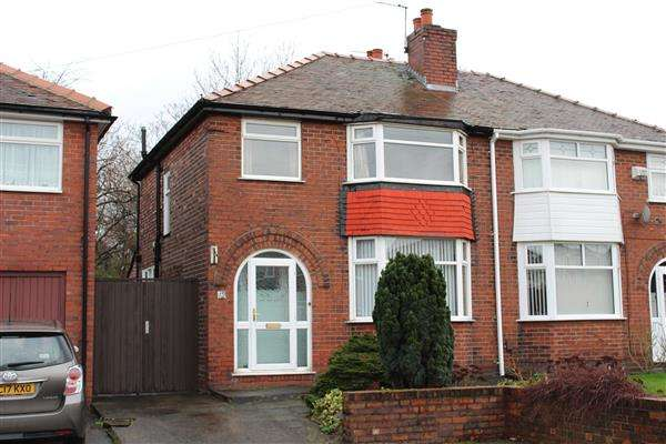 3 Bedrooms Semi Detached House for sale in Onslow Avenue, Manchester