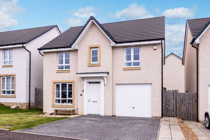 4 Bedrooms Detached House for sale in Todshaugh Gardens, Kirkliston, EH29