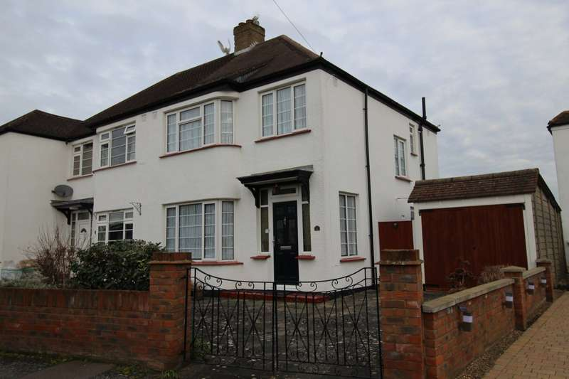 3 Bedrooms Semi Detached House for sale in Meadow Gardens, STAINES-UPON-THAMES, Middlesex, TW18