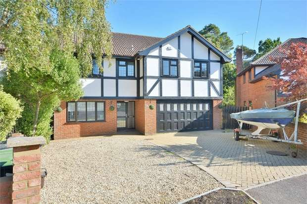 5 Bedrooms Detached House for sale in Ross Glades, Kinross Road, Talbot Woods, Bournemouth
