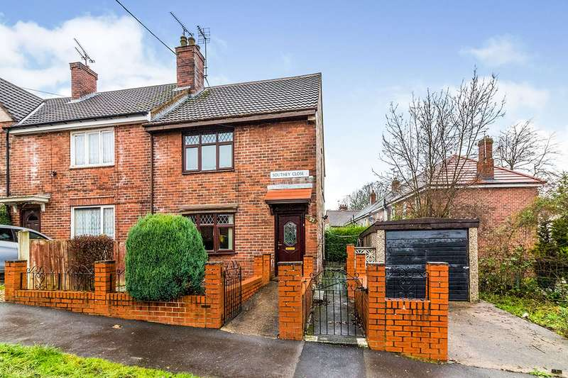 3 Bedrooms End Of Terrace House for sale in Southey Close, Sheffield, South Yorkshire, S5