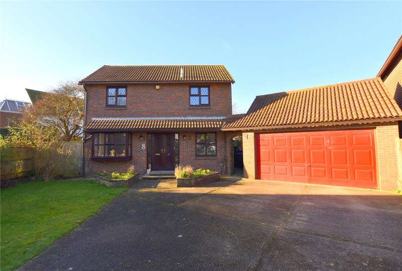 4 Bedrooms Detached House for sale in Seahaven Gardens, Shoreham-by-Sea, West Sussex, BN43