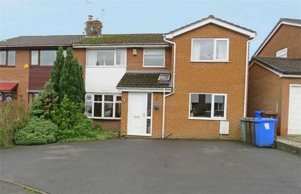 5 Bedrooms Semi Detached House for sale in Cheviot Close, Ramsbottom, Bury, Lancashire