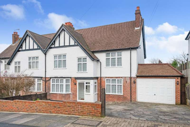 4 Bedrooms Semi Detached House for sale in Hillcrest Road, Orpington, Kent, BR6 9AN