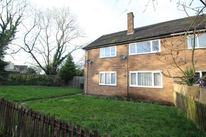 2 Bedrooms Maisonette Flat for sale in Newlands Road, Barwell, Leicester, Leicestershire, LE9