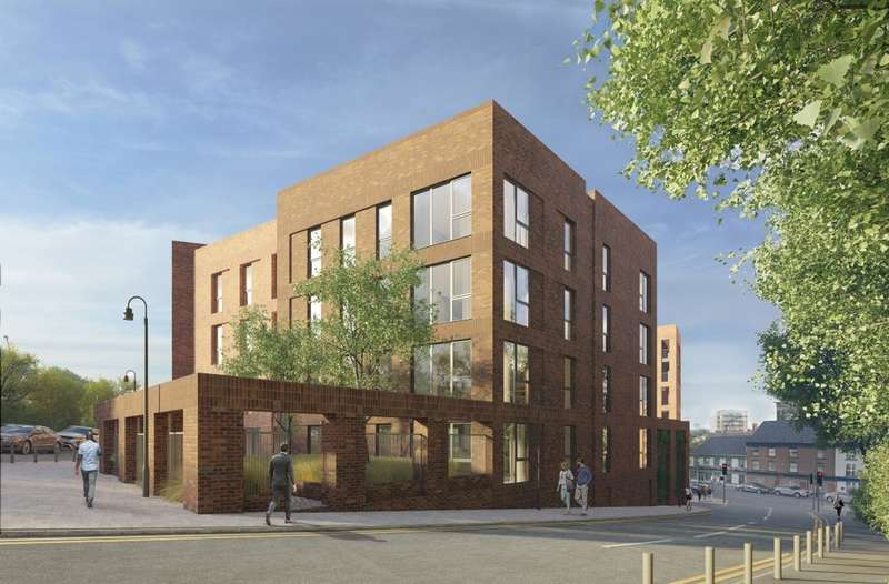 3 Bedrooms Flat for sale in Great Central, Kelham Island