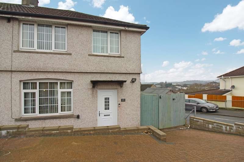 3 Bedrooms Semi Detached House for sale in Graig Park Road, Newport, NP20