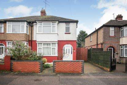 3 Bedrooms Semi Detached House for sale in Sunridge Avenue, Luton, Bedfordshire