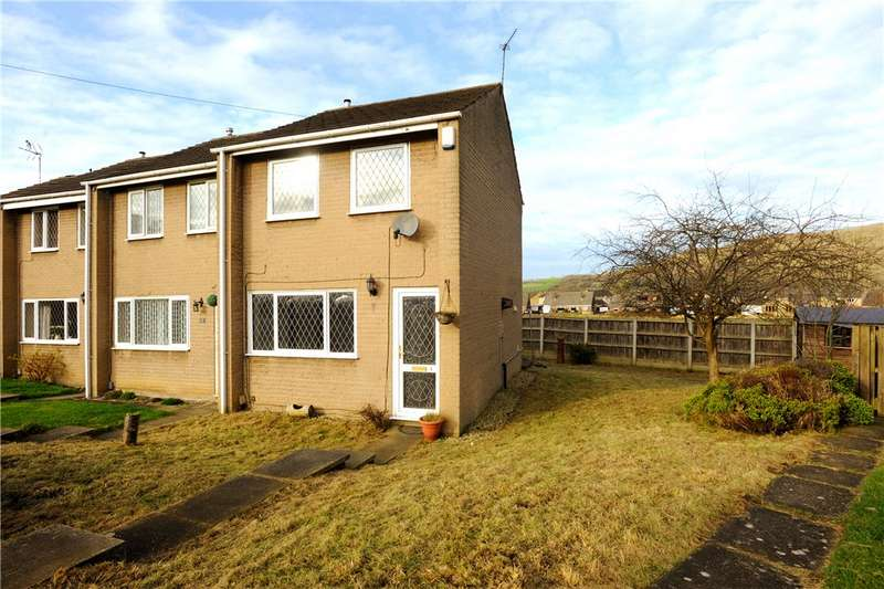 2 Bedrooms End Of Terrace House for sale in Coniston Close, Elland, West Yorkshire