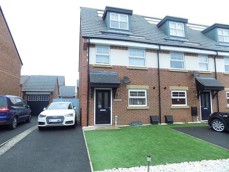 3 Bedrooms Terraced House for sale in Carroll Close, Pennington Wharf, Leigh, Greater Manchester, WN7