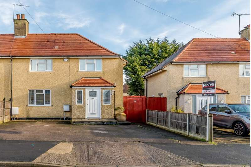2 Bedrooms Semi Detached House for sale in Fotherley Road, Mill End, Rickmansworth