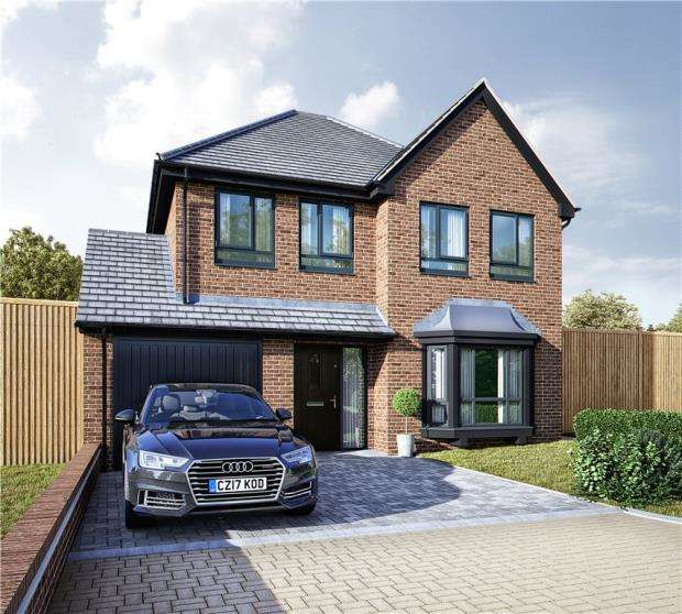 4 Bedrooms Detached House for sale in Rilshaw Lane, Winsford, Cheshire