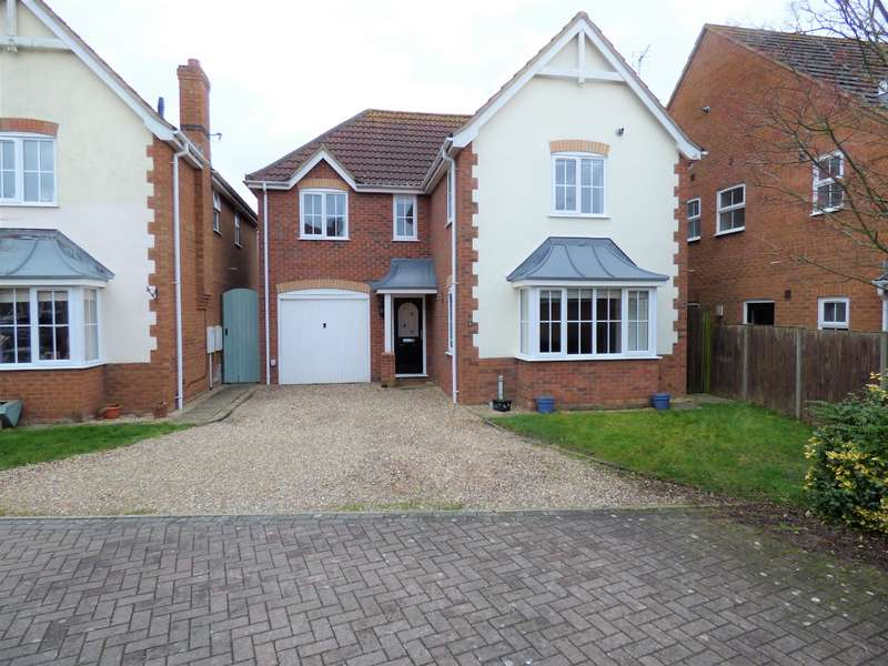 4 Bedrooms Detached House for sale in Stutte Close, Louth, LN11 8YN