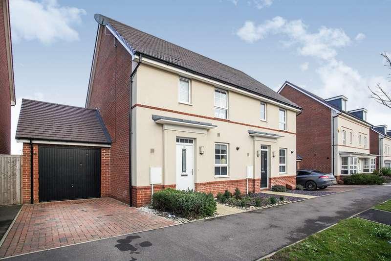 3 Bedrooms Semi Detached House for sale in Admiral Avenue, Swallowfields,, Hemel Hempstead, Hertfordshire, HP2