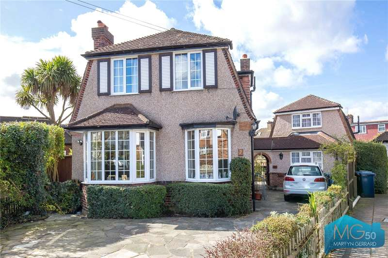 3 Bedrooms Detached House for sale in Croft Close, Mill Hill, London, NW7