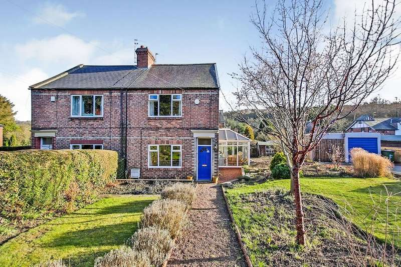 2 Bedrooms Semi Detached House for sale in Lintzford Road, Rowlands Gill, NE39