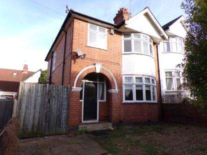 3 Bedrooms Semi Detached House for sale in Cooden Avenue, Westcotes, Leicester, Leicestershire