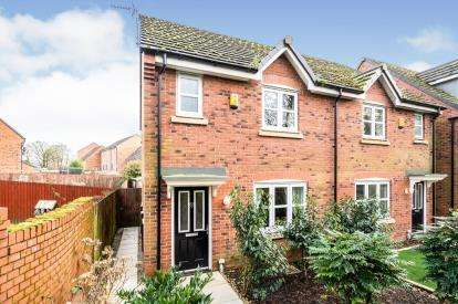 3 Bedrooms Semi Detached House for sale in Hydrangea Close, Westhoughton, Bolton, Greater Manchester, BL5
