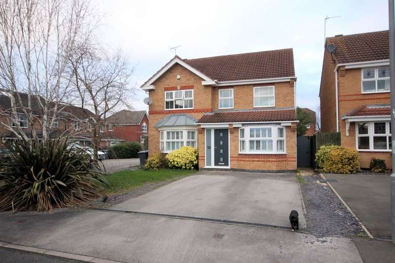 4 Bedrooms Detached House for sale in Brookfields Way, East Leake, Loughborough