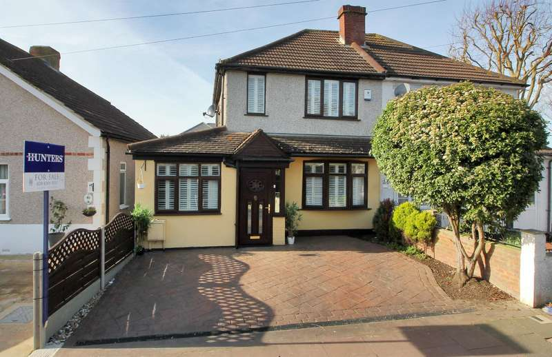 4 Bedrooms Semi Detached House for sale in Fen Grove, Sidcup, Kent, DA15 8QN