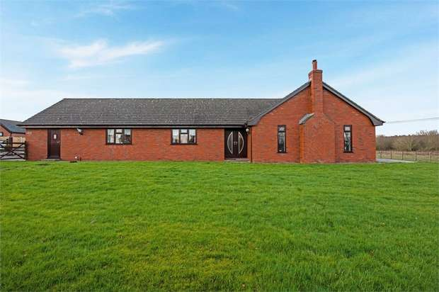 3 Bedrooms Detached Bungalow for sale in Moss Lane, Skelmersdale, Lancashire