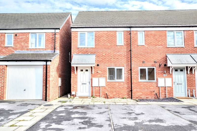 2 Bedrooms Town House for sale in Brambling Lane, Wath-upon-Dearne, Rotherham, S63 7GT