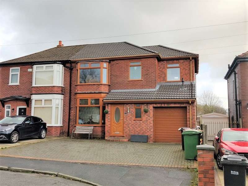 Semi Detached House for sale in Ventnor Avenue, Bolton, Greater Manchester. BL1 8PY