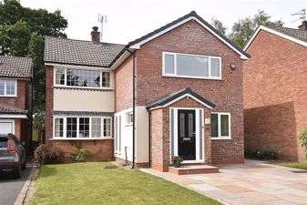 4 Bedrooms Detached House for sale in Worthington Close, Macclesfield, Cheshire