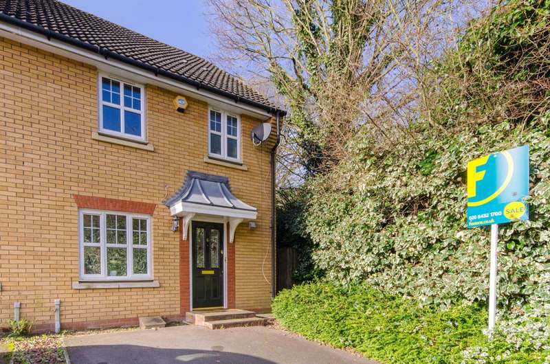 3 Bedrooms End Of Terrace House for sale in Hatherleigh Close, NW7, Mill Hill East, NW7