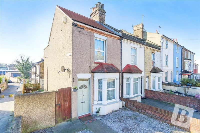 2 Bedrooms End Of Terrace House for sale in Dover Road East, Gravesend, Kent, DA11