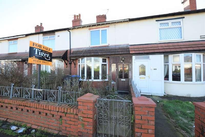 2 Bedrooms Terraced House for sale in Ellesmere Road, Blackpool