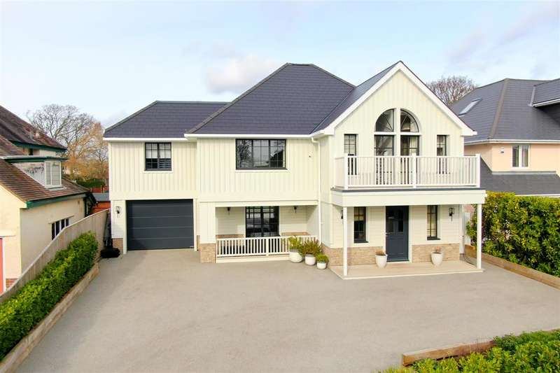 5 Bedrooms Detached House for sale in Elms Avenue, Lilliput, Poole