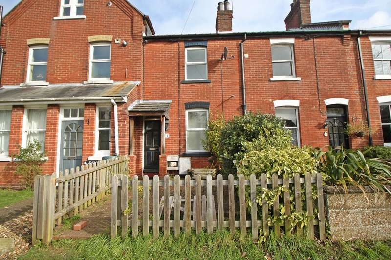 2 Bedrooms Terraced House for sale in Coastguard Cottages , Station Road, Netley Abbey, SO31 5DT