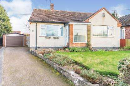 2 Bedrooms Bungalow for sale in Atherstone Road, Loughborough, Leicestershire