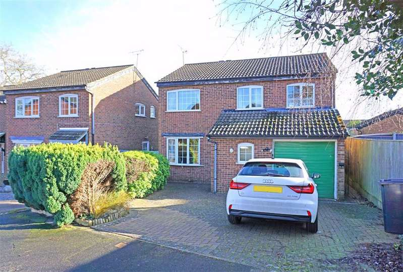 4 Bedrooms Detached House for sale in Melbourne Close, Kibworth