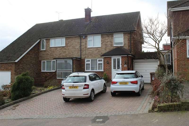 3 Bedrooms Semi Detached House for sale in Sunningdale Drive, Rainham, Gillingham, Kent