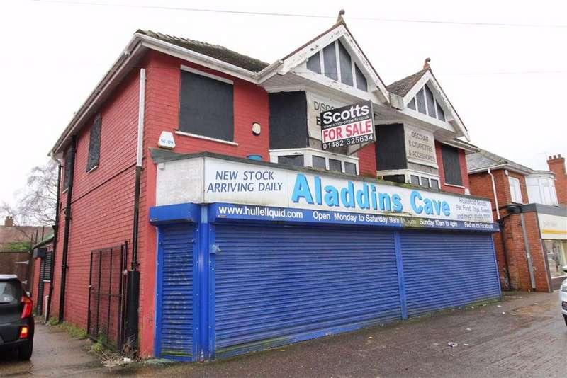 Shop Commercial for sale in Endike Lane, Hull, East Yorkshire