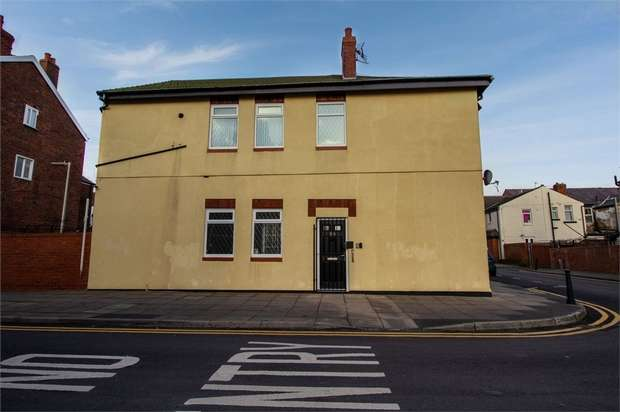 2 Bedrooms End Of Terrace House for sale in Kent Road, Blackpool, Lancashire