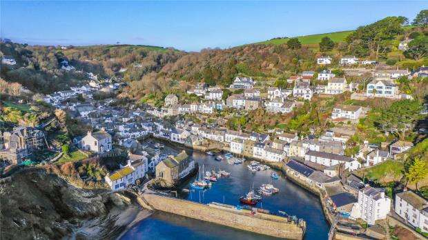 5 Bedrooms End Of Terrace House for sale in Hillside, Talland Hill, Polperro, Looe